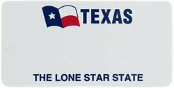 Custom Engraved Texas Key Tag Image