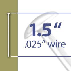 15 Head Pin 025 Wire Image