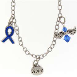 Bullying Awarness Charm Bracelet In Support And In Memory Of Victims Image