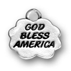 God Bless America Charm Image