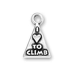 I Love To Climb Charm Image