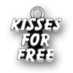 Kisses For Free Charm Image