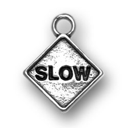 Slow Sign Charm Image