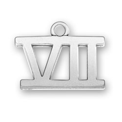 Roman Numeral Vii Charm Image