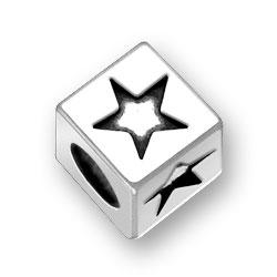 45mm Square Star Bead Image