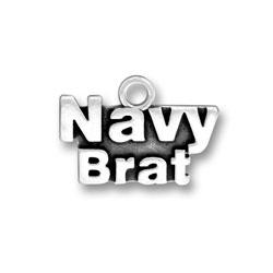 Navy Brat Charm Image