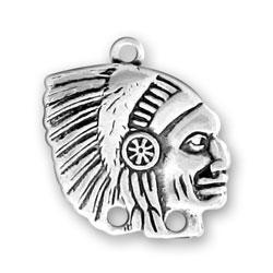 Indian Head Charm Image