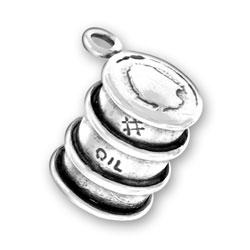 Oil Barrel Charm Image