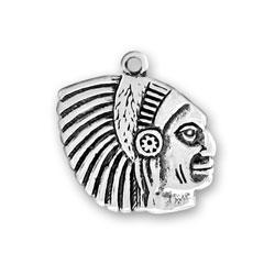 Indian Head Ii Charm Image