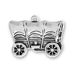 Covered Wagon Charm Image