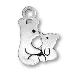 Bear And Cub Charm Image