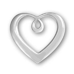 Plain Heart Pendant Image