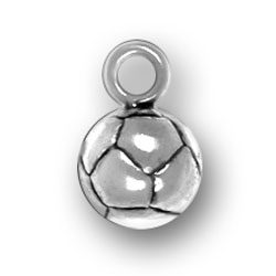 Pewter Soccer Ball Charm Image