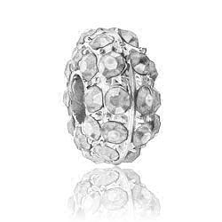Clear Crystal Rhinestone Bead Image