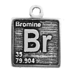 Pewter Element Br Charm Image