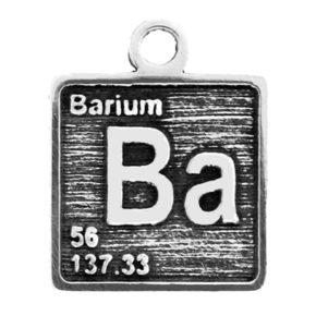 Pewter Element Ba Charm Image