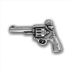 Pewter Gun Charm Image