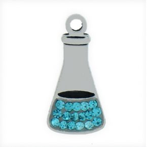 Pewter Blue Crystal Beaker Image