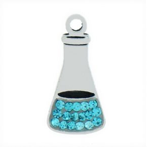 Blue Crystal Beaker Image