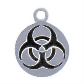 Biohazard Charm Image