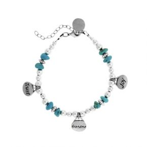 Personalized Trust Grandma Joy Beaded Bracelet Image