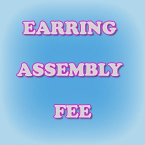 Earring Assembly Fee Image