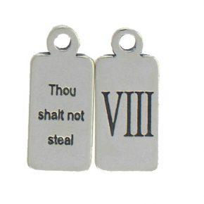 Ten Commandments Charm Viii Image