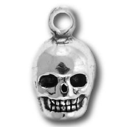 Pewter Skull Charm Image
