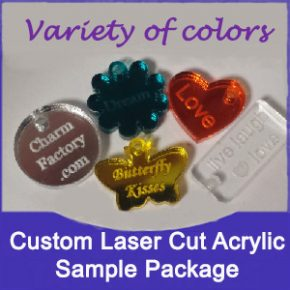 Acrylic Tag Sample Package Image