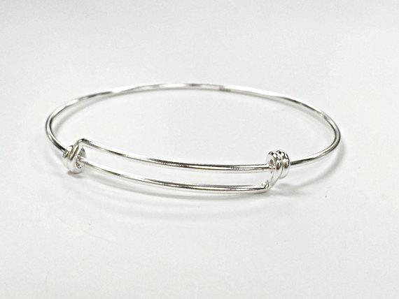 Sterling Silver Adjule Bangle Bracelet