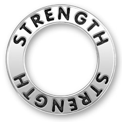 Strength Message Ring Image