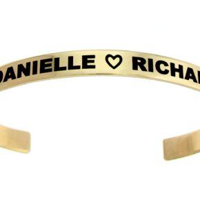 Brass Customizable Cuff Bracelet Image